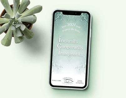 Béatrice Hedde - Carte de vœux