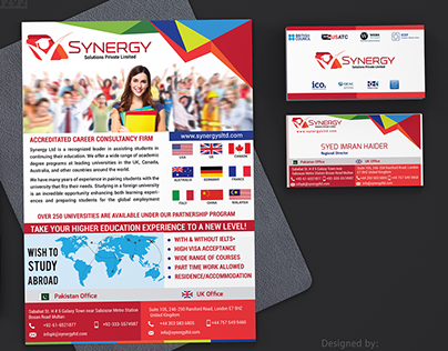 Brand Identity - Brochures & Business Cards Design