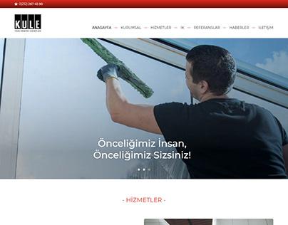 Kule Tesis Yönetimi Web Tasarım, UI-UX And SEO