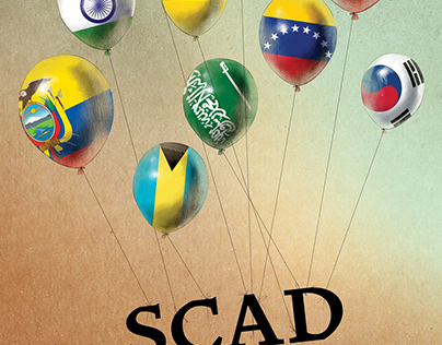 Scad Atlanta International Week Poster Design