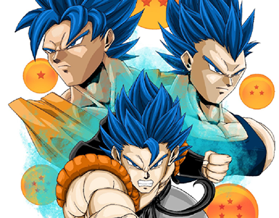 Goku x Vegeta x Gogeta