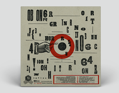 Brighton 64 - Letterpress print LP