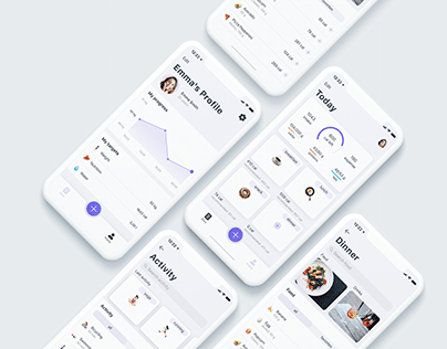 Daily – UX/UI Design of mobile app