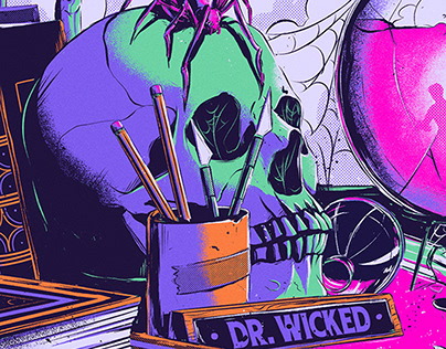 Doctor Wicked - Poster Illustration