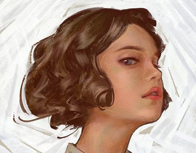 . C. Leyendecker inspired/study portrait