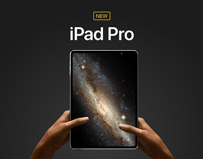 New iPad Pro - Concept by Álvaro Pabesio