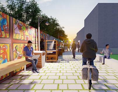 Public space redesign