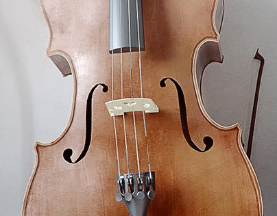 Cello in the corner