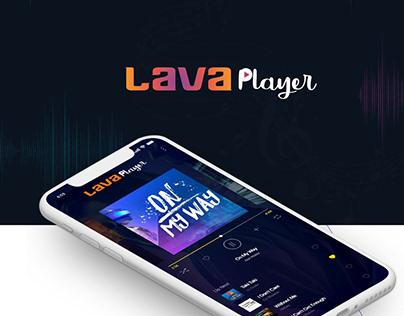 Lava Music Player Application