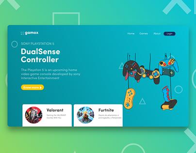 Game web   UI design
