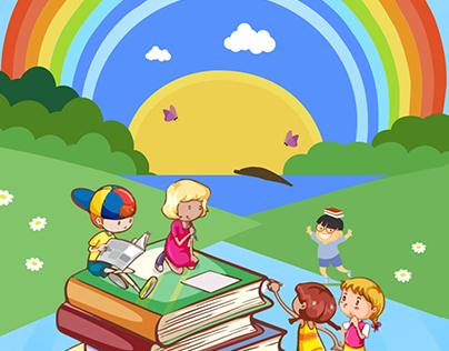 NGP KIDS ZONE (Kids Rhymes Logo)