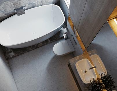 Residential BathRoom - Light moods