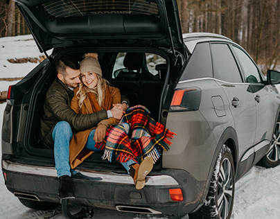 Winter love with Peugeot 3008