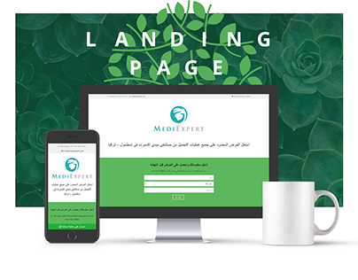 MediExpert Clinic Landing Page