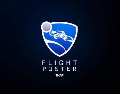 Rocket League - Flight Poster