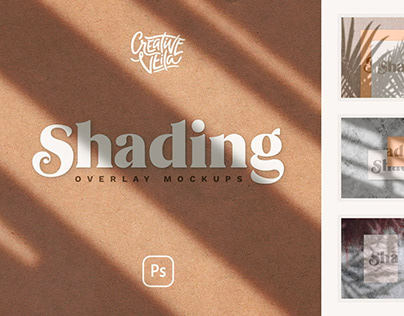 Shadow Overlay & Stationery Mockups
