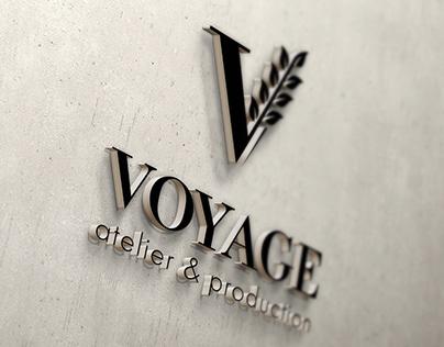 VOYAGE atelier & production. Logo and identity.