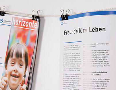 Editorial design – Lebenshilfe Kirchheim unter Teck