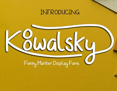 Koowalsky Font
