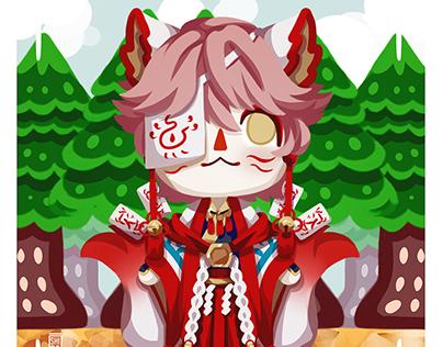 Shinya - Animal Crossing Style