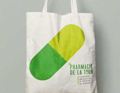 Pharmacie de la Tour, identité visuelle