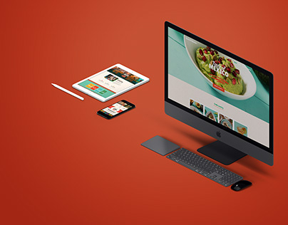 Taste Of Mexico Branding   Webdesign