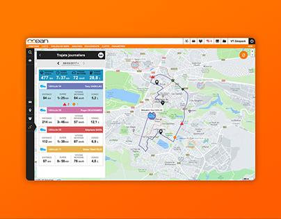 OCEAN: Fleet management dashboard UI Design