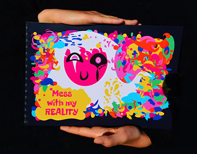 Mess with my reality - vector fanzine