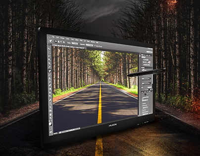 Huion Tablet | Photo Manipulation