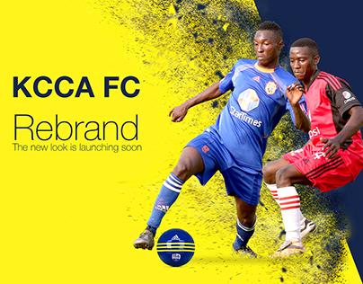 KCCA FC Brand Identity Design