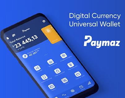 Digital Currency Universal Wallet UI/UX Design