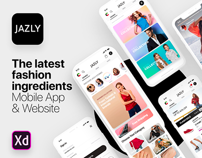 JAZLY E-Commerce Mobile App