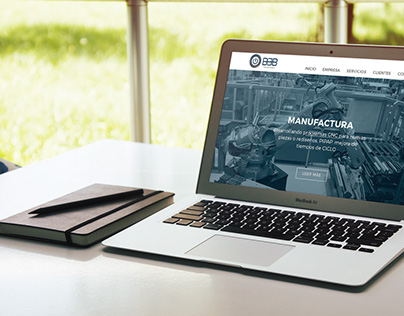 BMB Automatización - Website Redesign