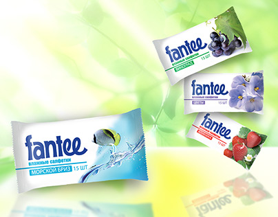 Fantee. Packaging for the brand.