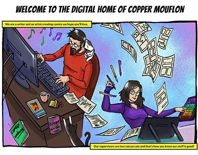 Copper Mouflon - Website Design, Branding
