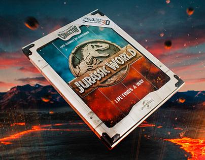 Jurassic World - Woodarts 3D