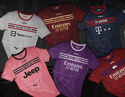 Adidas third kits in... Puma style!