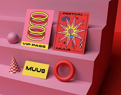 Muus festival- identity concept