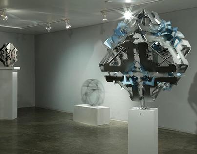 No.2 from Deep Breathing series, 2015, steel & Plexigla