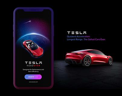 Tesla Roadster Walkthrough | UI/UX
