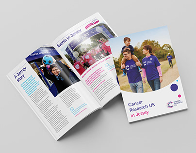 Cancer Research UK Fundraising material