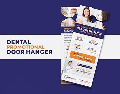Dental Promotional Door hanger