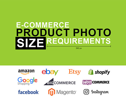 E-commerce Product Photo Size Requirements