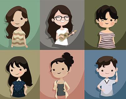 Vector Portraits
