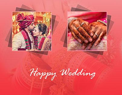 Wedding layout design