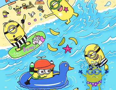 Minions' Summer Vacation