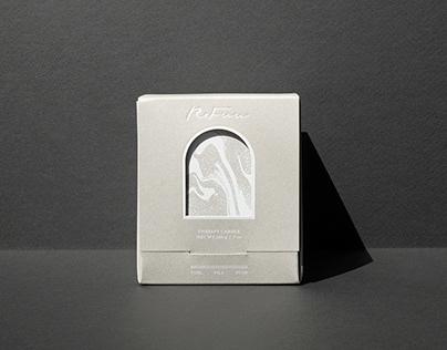 REFU 水泥精油蠟燭包裝設計