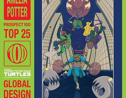 TMNT x Prospect100 Global Design Competition 2021