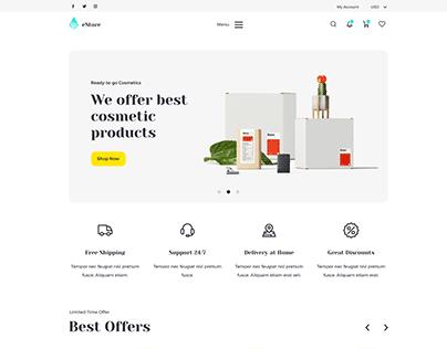 eStore - Creative E-shop PSD Template