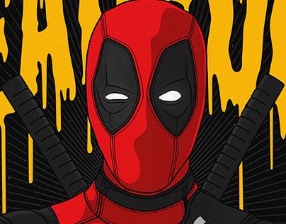"""Deadpool """"WU-TANG"""" (Poster)"""